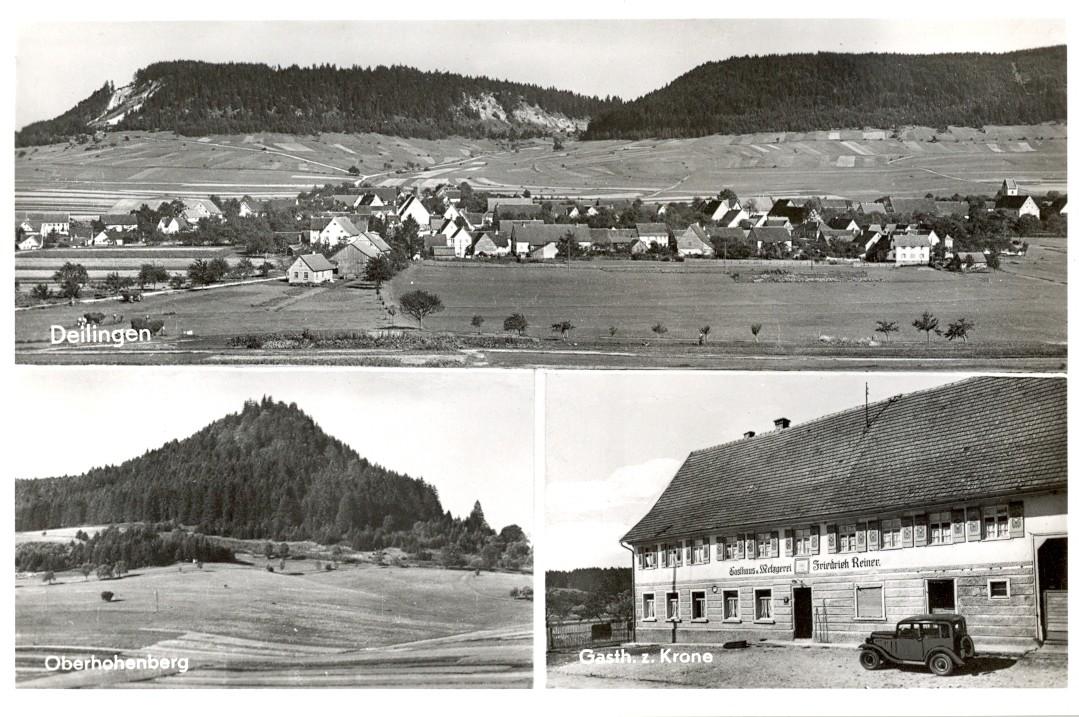 Postkarte Deilingen