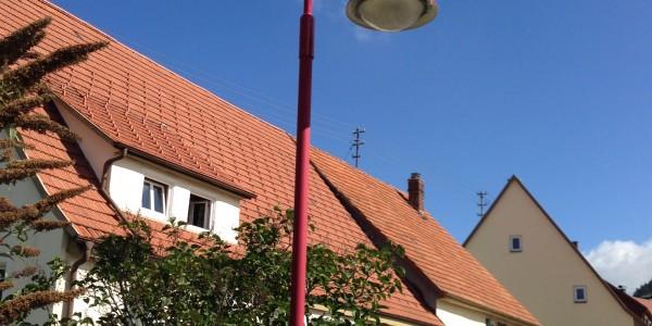 Energetische Modernisierung der Straßenbeleuchtung unserer Gemeinde